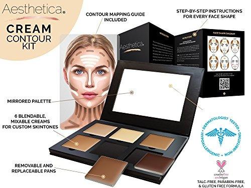 aesthetica cosmetics crema kit de maquillaje