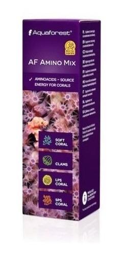 af amino mix aquaforest aminoácido para corais 10ml val06/20