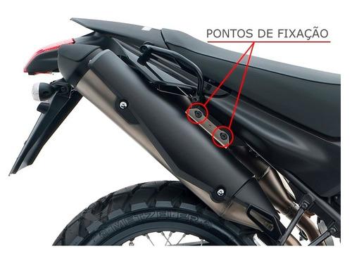 afastador / suporte para alforge moto yamaha xt660