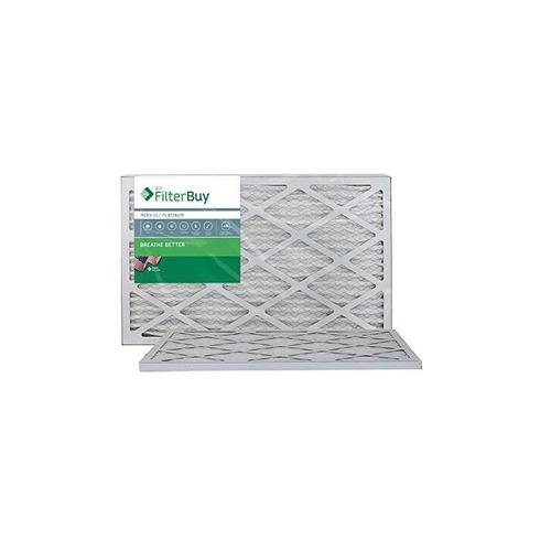 afb platinum merv 13 15x25x1 filtro de aire de horno plisado
