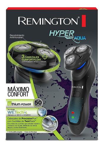 afeitador eléctrico remington hyper aqua xr1430 negro