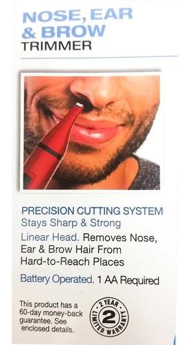 afeitador nasal remington