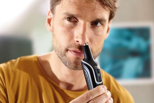 afeitador philips multiusos barba vellos nariz lavable nva