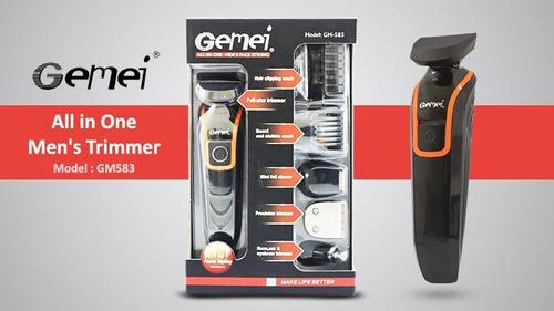 afeitadora barbera 4 en 1 recargable