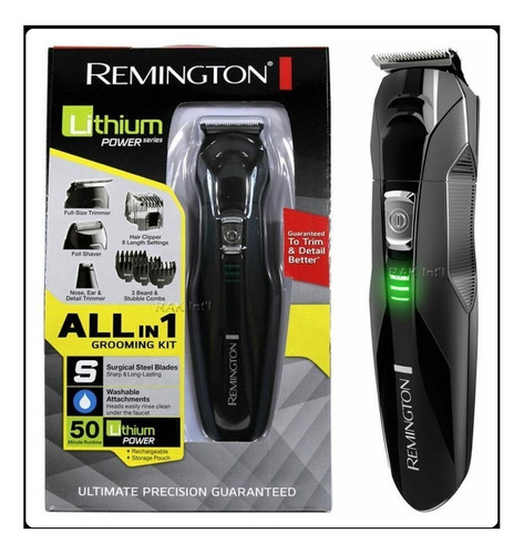 afeitadora barbera remington patillera lithium recargable