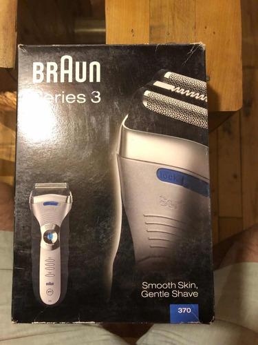 afeitadora braun 370 serie 3 impecable