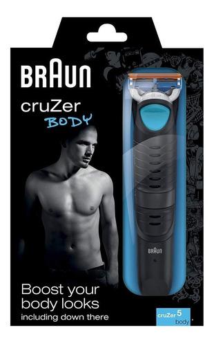 afeitadora  braun cruzer 5 body r5674