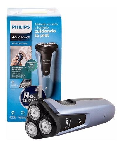 afeitadora con patillero aquatouch philips original
