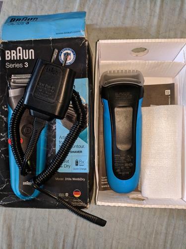 afeitadora de barba braum serie 3