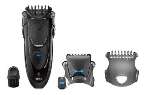 afeitadora de pelo barba multi groomer braun mg5050 cortador