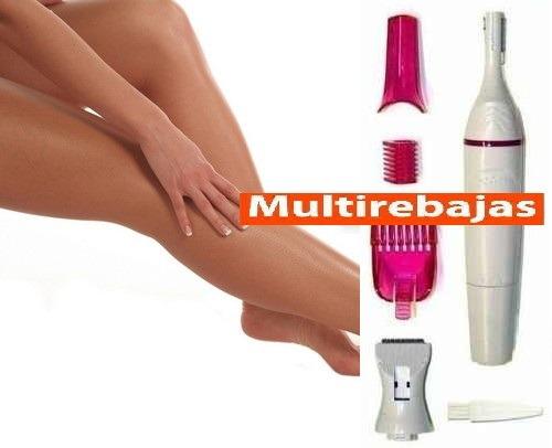 afeitadora depiladora de cejas, bikini, axilas, otros 6 en 1