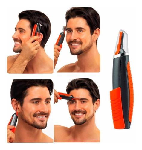 afeitadora depiladora masculina portátil 2 en 1 rf 17675-1