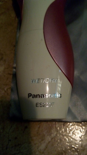 afeitadora depiladora panasonic de dama