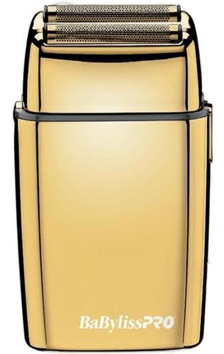 afeitadora dorada de doble hoja babylisspro .bfs2ges.