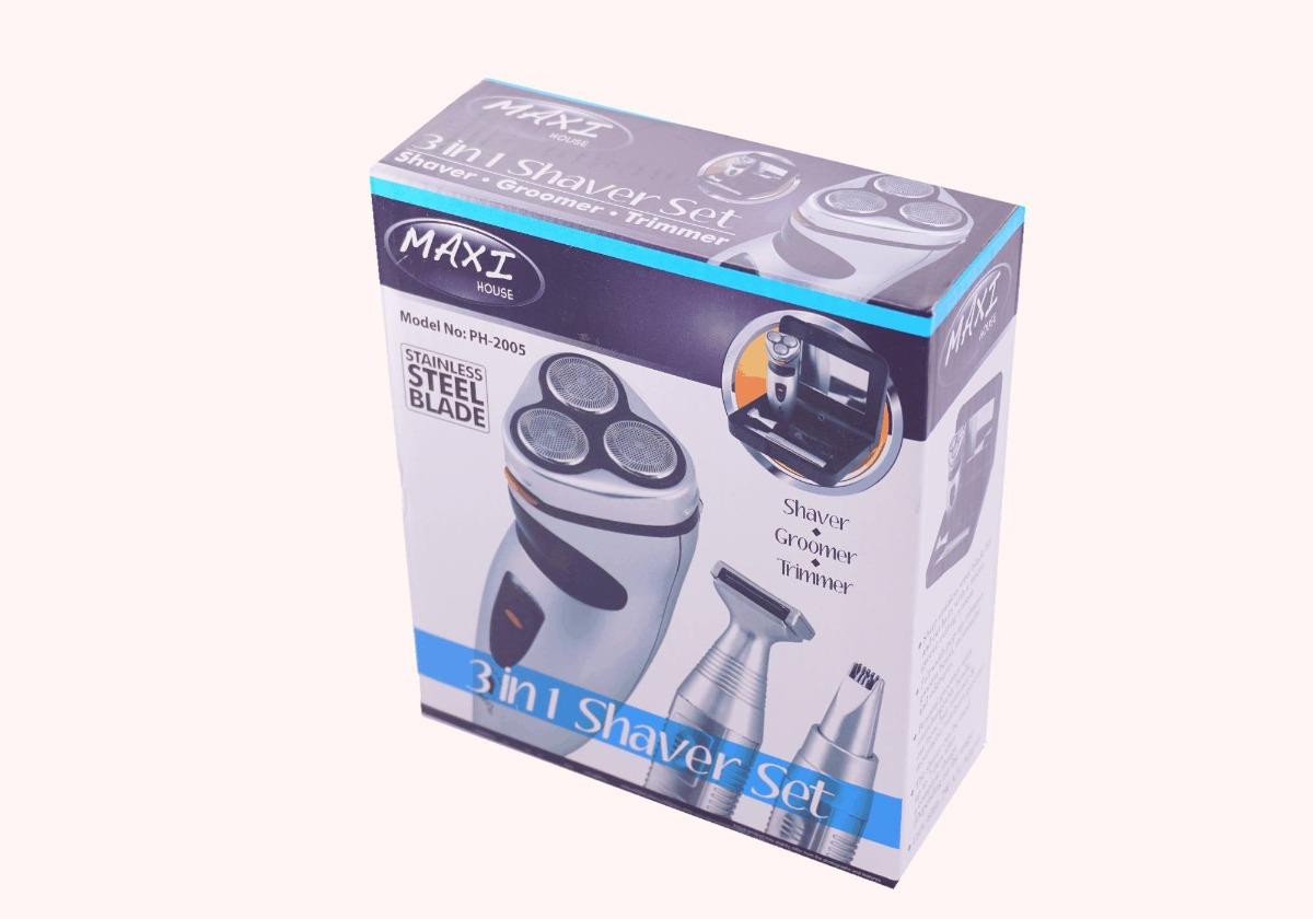 Afeitadora Electrica Combo Maxi Ph-2005 Patillera 3 En 1 -   34.900 ... 22eb0c6fc2ba