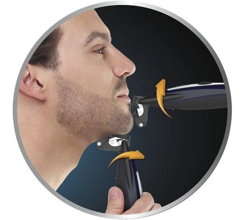 afeitadora eléctrica conair for men flexible barba bigote