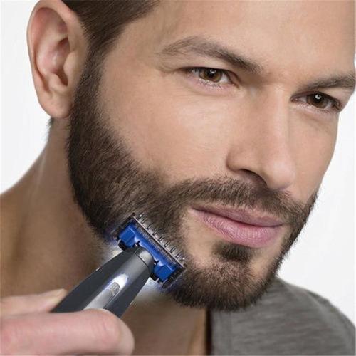 afeitadora eléctrica perfiladora recargable microtouch solo