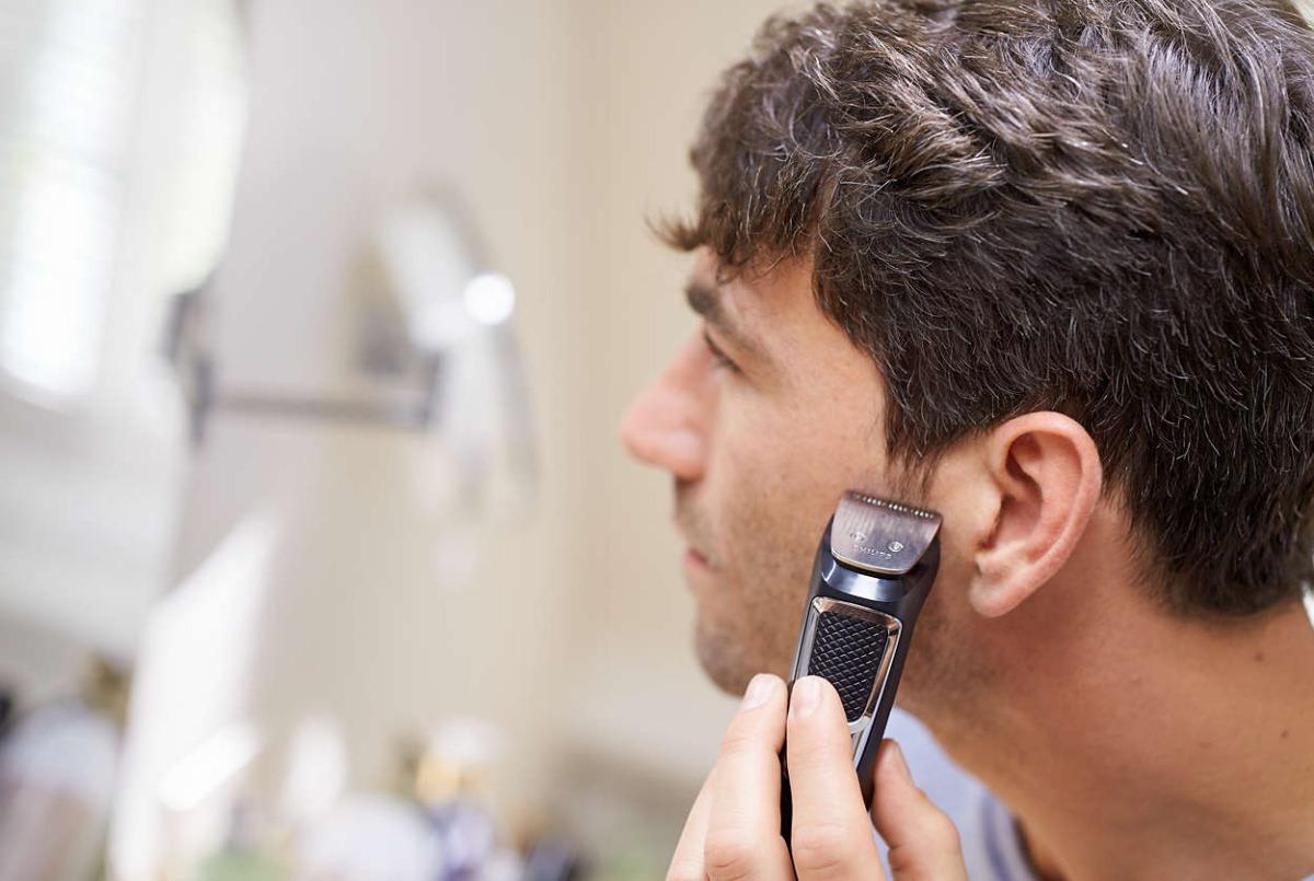 afeitadora eléctrica philips 13 en 1 barba nariz oído cabeza. Cargando zoom. da4c7b552e11