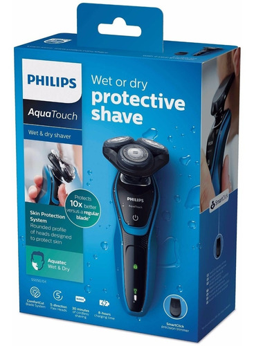 afeitadora electrica recargable philips 5050 seco y humedo
