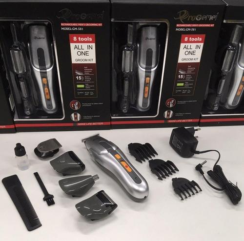 afeitadora eléctrica todo en 1 gemei gm581 oferta!!!
