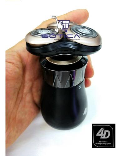 afeitadora eléctrica trimmer 5 cabezas 4d mojado y seco