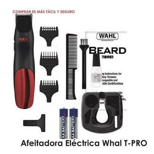 afeitadora eléctrica whal bump - prevent