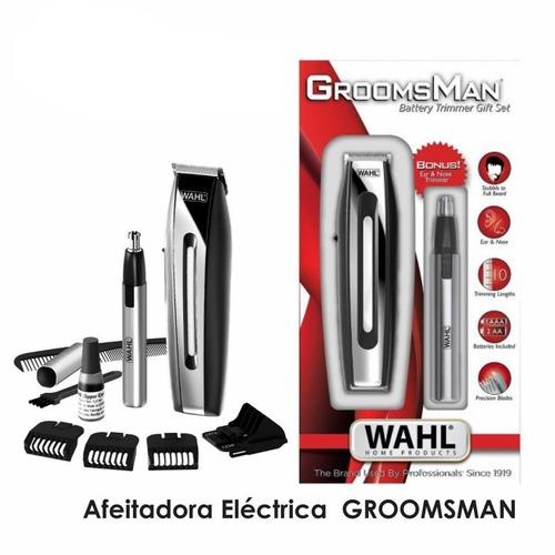 afeitadora eléctrica whal groomsman