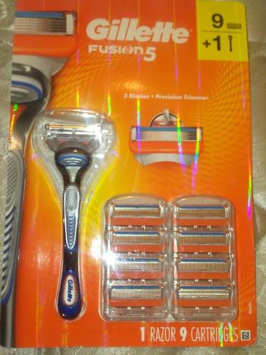 afeitadora gillette fusión 5