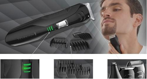afeitadora hombre remington lithium pg6025 todo en 1 + obs