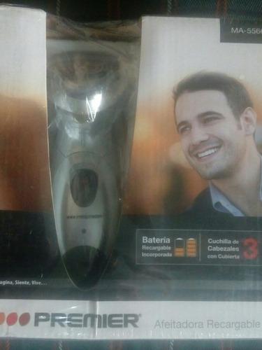 afeitadora inalambrica recargable premier