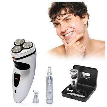 afeitadora lizbella eléctrica recargable 4en1 + perfilador
