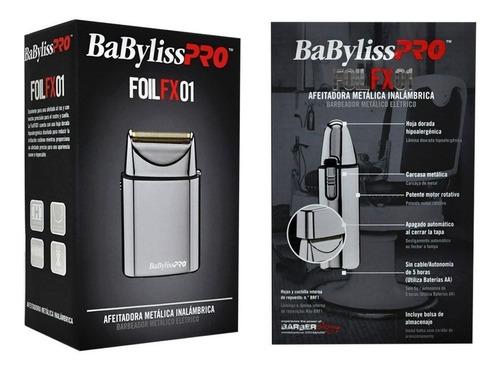 afeitadora metalica inalambrica foil fx01 babylisspro