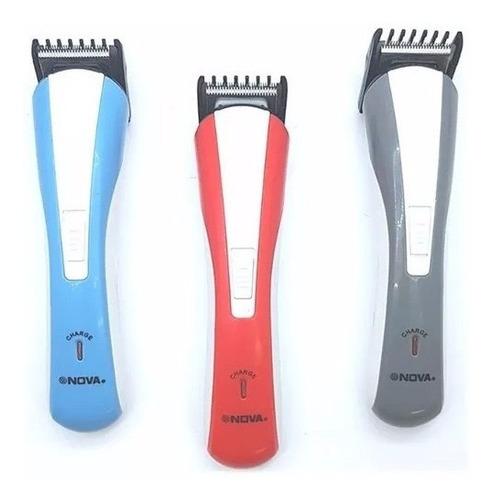 afeitadora nova 3 en 1 recargable nueva maquina patillera+ob