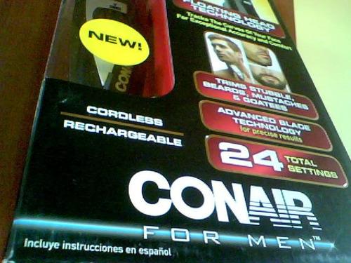 afeitadora para hombre conair - nueva -