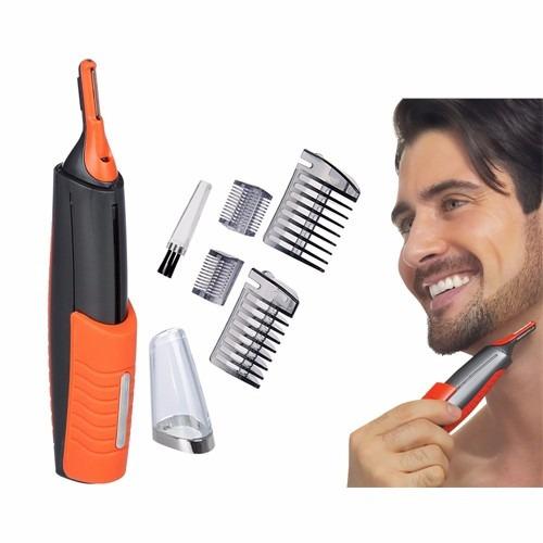 afeitadora para retoque barba ceja patillas nuca vello nariz