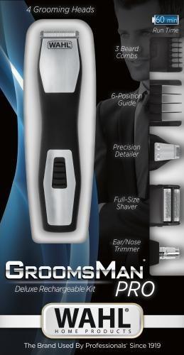 afeitadora peluquera wahl todo en 1 recargable nariz oidos
