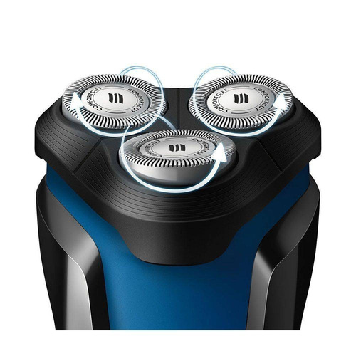 afeitadora philips aquatouch s1030 lavable recargable + obs