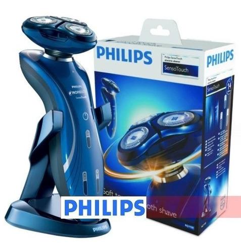 afeitadora philíps rq1150 sensotouch 2d recargable lavable