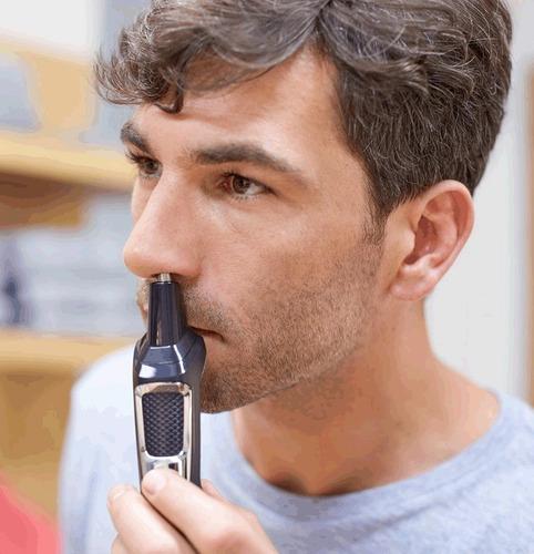 afeitadora philips todo en 1 barba pelo patilla recargable