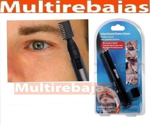 afeitadora precicion led barba nariz cejas bigote