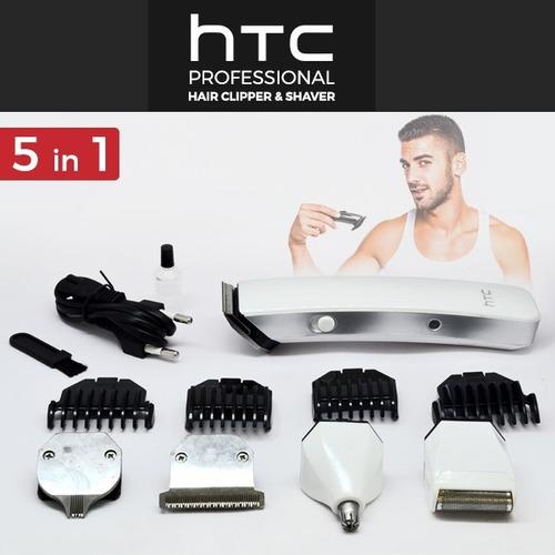 afeitadora profesional multiusos 5 en 1 htc at-1201,cortador