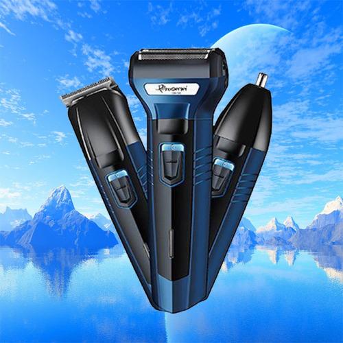 afeitadora recargable portatil sonar 3 maquinas en 1