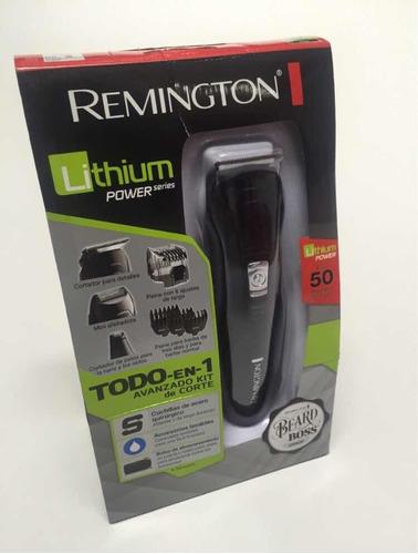 afeitadora remington lithium inalámbrica original