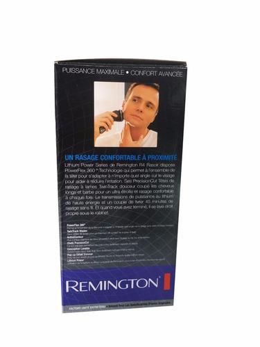 afeitadora remington power flex 360 rasuradora 3 cabezas