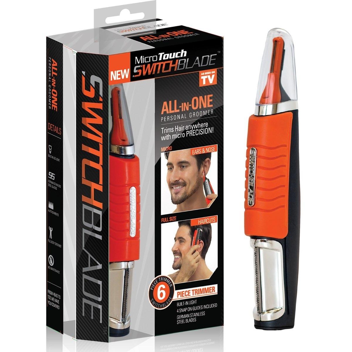 Afeitadora Switchblade Depiladora De Pelo 2 En 1 -   550 06c253c1c330