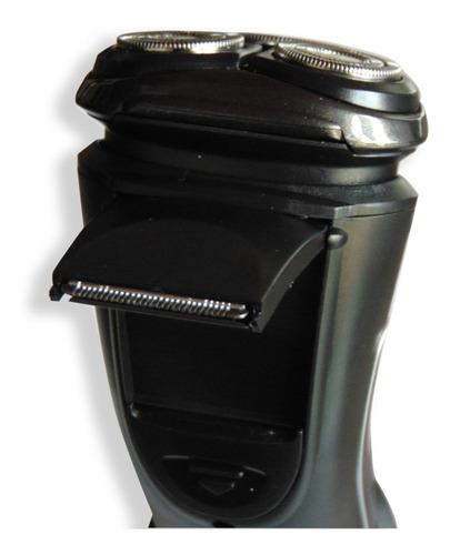 afeitadora tv sumergible en agua con patillera aquatouch + o