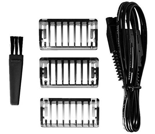 afeitadoramicro touch- solo recargable afeitadora trimmer y