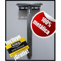Maquina De Afeitar Manual Acero Inoxidable