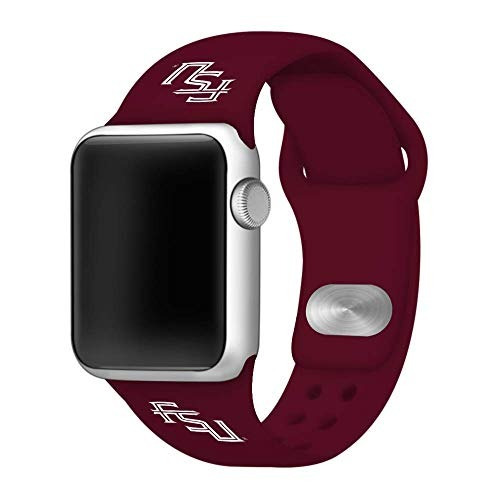 affinity bands florida state seminoles maroon silicone sport