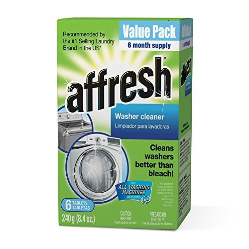 affresh washer machine cleaner 6tablets 84 oz